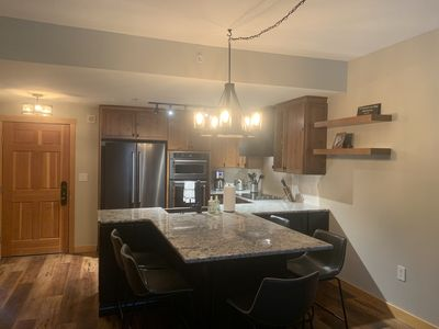 New gourmet kitchen with large island!