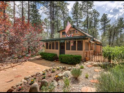 Photo for True Prescott Experience Cabin, Pines & Needles,  Boulders  close to Whiskey Row