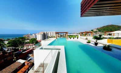 Photo for Superb Condo in the Heart of Puerto Vallarta - 'Casa Aroha'