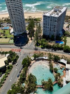 Photo for Stunning Crown Towers Ocean-View 2 & 3 Bedroom Apartment 2 Bath Free WIFI & Park
