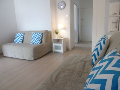 Photo for Very nice studio on the beaches JUAN LES PINS - PARKING & TERRACE