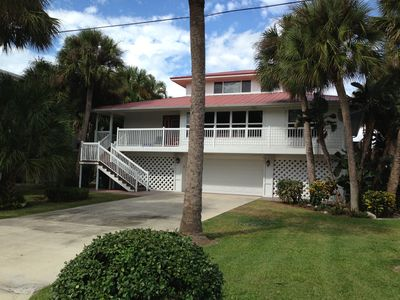 Photo for Just Listed!! Spacious Private 4 Bedroom Waterfront Pool Home - Walk to Beach!