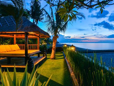 Photo for Villa Branie - Beach front PRIVATE Villa in North Bali