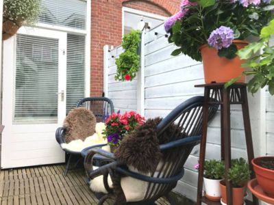 Photo for Lovely romantic beach house with lovely small courtyard and great location!