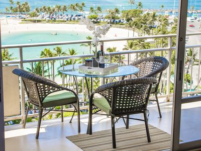 Ilikai collection 3.Upscale Luxury Condo with Superior Ocean and Beach Views!