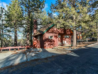 Photo for Kiwi Cabin - FREE Kayak/Bike Rental! -  3BR/1BA/Fireplace/Wooded Neighborhood/Mountain Views