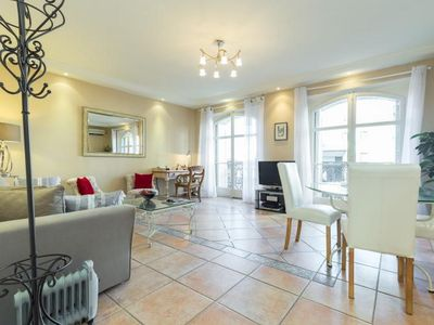 Photo for Lovely 2 bedroom 2 bathroom apartment in Cannes near the Palais. Internet, A/C