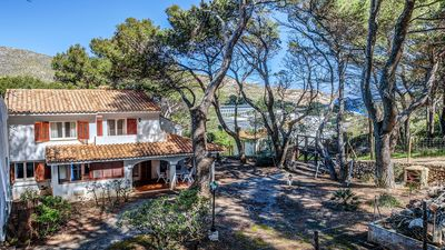 Photo for Casa Claire - Charming Villa with AC in a Great Location just 500 meters from the Beautiful Beaches of Cala San Vicente! - Free WiFi