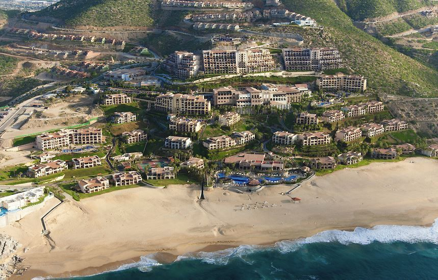 Aerial View Of Sunset Beach Resort And Spa