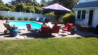 Excellent entertaining space outside ready to host your family and friends
