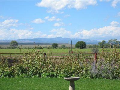 View toward Black Hills from Ranch House