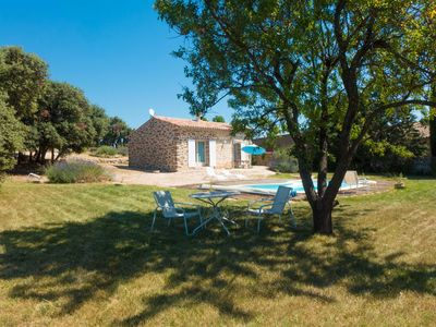 Photo for Nice sheepfold classified 3* all comfort swimming pool in vineyard