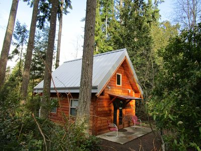 Photo for Charming Cottage Nestled Among Towering Trees - Gateway to the Olympic Peninsula