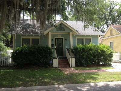 Photo for Cozy Cottage in the Heart of the Historic District!
