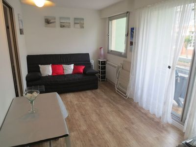 Photo for Nice Studio cabin on the 1st floor with balcony, for 4 people, close to the Market Hall.
