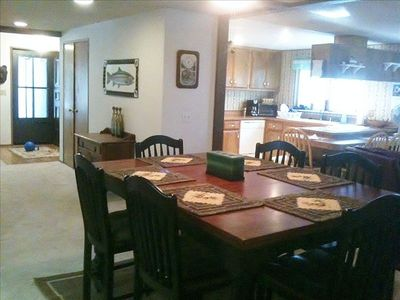 Great Room -  Dining, Kitchen & Family Room.