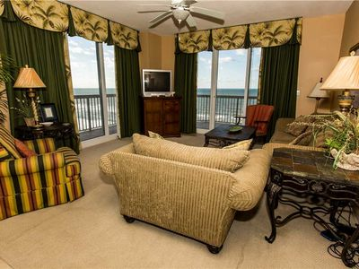 Photo for Grand Tropical Unit with 1,565 sq ft of Spacious Relaxation and Balcony Overlooking the Gulf Coast