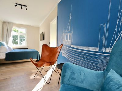 Photo for Baltic Sea view berth with balcony - Hotel Heimathafen