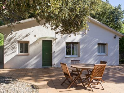Photo for Charming cozy house in a state park in Barcelona for a month or more!