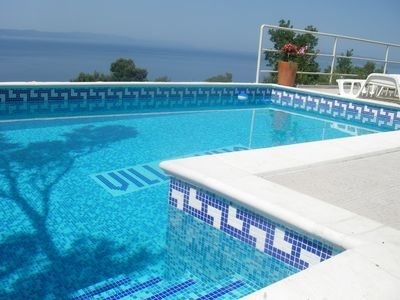 Photo for Villa Anna **** with Pool u. Great sea views in quiet location for 2-6 people, WiFi