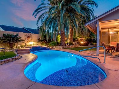 Photo for Backyard Oasis with private pool, close to Spring Training and Cardinals Stadium