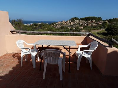 Photo for Residence Calarossa, Sardinia, house with beautiful panoramic terrace, sea 300mt
