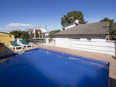 Photo for Catalunya Casas: Angelic villa in Bellvei for 9 guests, only 3km from the beaches of Costa Dorada!