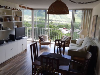 Photo for Makaha Valley Towers 1 BR - Very Scenic and newly renovated!