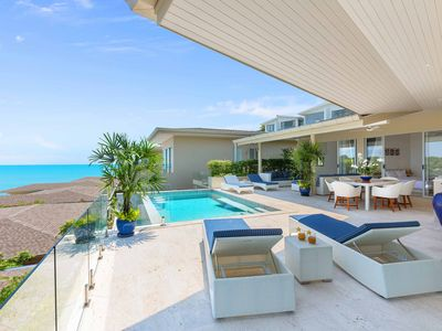 Photo for 3 Bedroom Private Pool Villa, Stunning Sea View