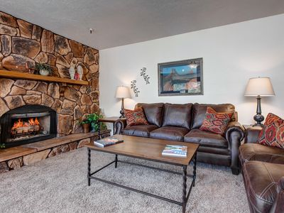 Photo for NEW LISTING! Convenient location, dog-friendly condo w/shared hot tub-near lifts