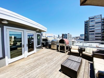 Photo for 5 BR / 2 Story Penthouse With Views in Pac Heights - Recently Remodeled