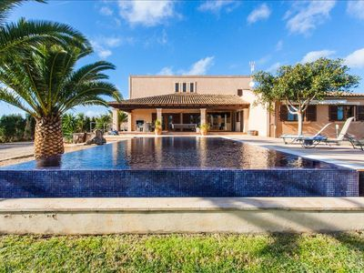 Photo for S'HORT 5852/2016 VILLA WITH S'HORT PRIVATE POOL AT 15 MIN FROM THE BEACH OF ESTRENC