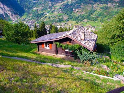 Photo for Bruson / Verbier - Chalet with garden