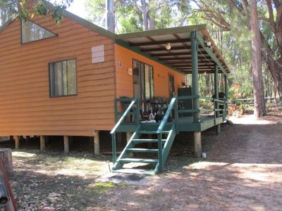 Photo for Chalet 2: Horse friendly, great access to bush riding, electric fenced roundyard