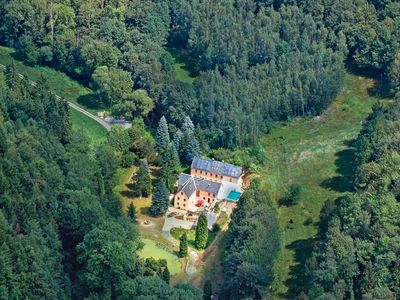 Photo for Holiday home in a secluded location for groups with pool, sauna, wood oven and more ...