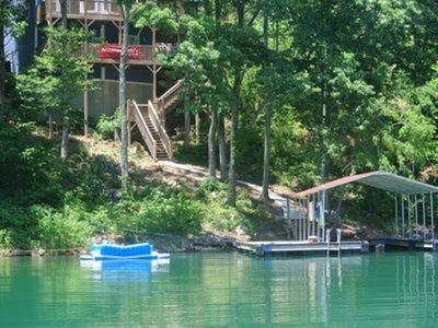 Photo for Riley's Resort! Sleeps 15-17, Private Dock and a short walk to the Marina!
