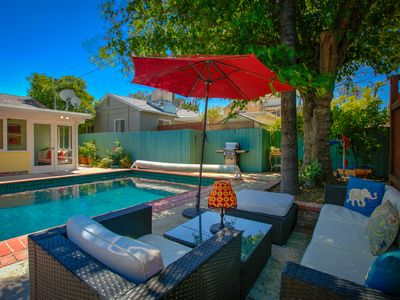 Photo for Charming Sunny Los Angeles Home With Pool