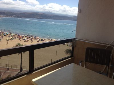 Photo for THE BEST VIEWS OF THE BEACH OF LAS CANTERAS 1