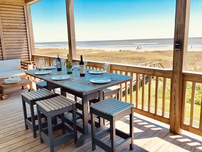 Photo for Luxury BeachFRONT Bliss - SPECTACULAR OCEANFRONT VIEW & Featured on HGTV!