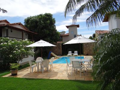 Photo for BEAUTIFUL HOUSE IN GERIBÁ, WITH 5 SUITES, SWIMMING POOL, SAUNA, BARBECUE AND SALON GAMES
