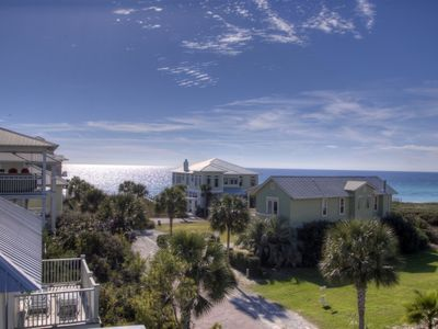 Photo for Seagrove Beach Home - AMAZING Gulf Views! 2 Pools -1 Heated Pool - Steps to Beach - Close to Seaside