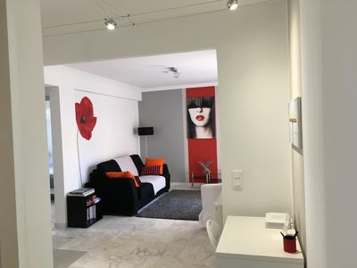 Photo for CANNES, APARTMENT RENOVATED A 30 METRE OF BEACHES OF THE CROISETTE