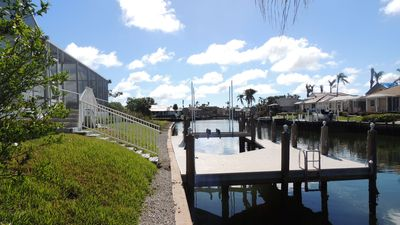 Photo for Direct access home w dock/lift, pool/spa Southwest Exposure for Maximum Sun!.