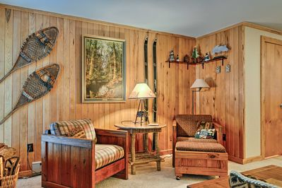 This vacation rental condo in Snowshoe, West Virginia has everything you need.