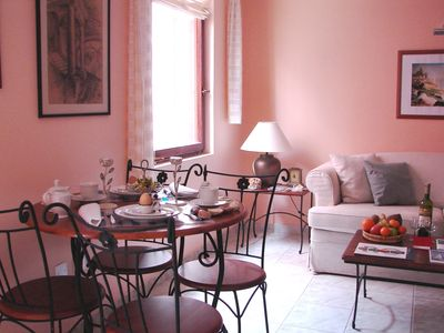 "Photo for Cosy studio apartment ""Pirusi"" at Villa Cissa in Rovinj historic Old Town centre"
