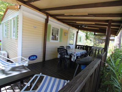 Photo for Mobile Home Camping Les Sables d'Or