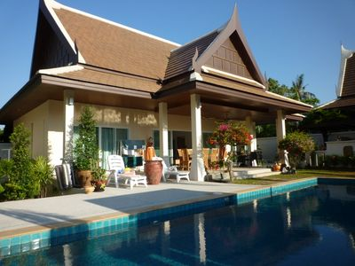 Photo for Recent Thai style villa in quiet area