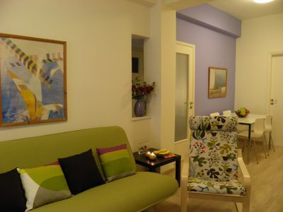 Photo for 2 bedroom  apartment near the national archaeological Museum