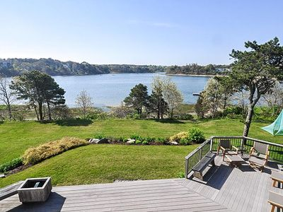 Waterfront & Pet Friendly! Enjoy the warm summer breezes and gorgeous views of Ryder's Cove!