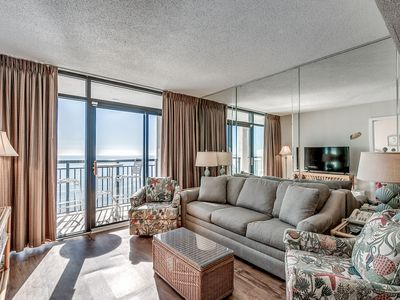 Photo for Spacious Oceanfront Condo w/Great Resort Amenities + FREE DAILY ACTIVITIES!!!